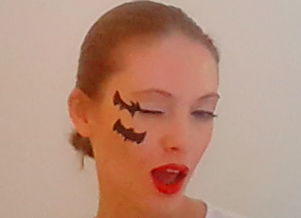 Make Up Fledermaus Fur Halloween Ein Blog Uber Mode Und Schonheit