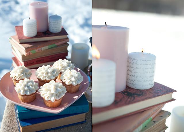 Gestaltung von Kerzen