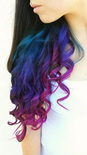 Haarfarbe - ein Spiel der Farben