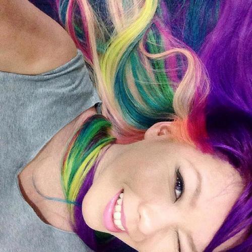 Original-Haarfarbe - die Palette der Farben