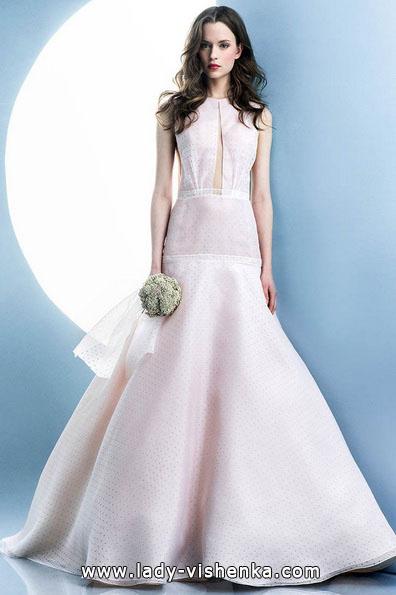 Rosa Hochzeitskleid 2016