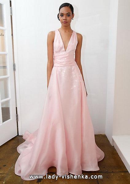 Rosa Hochzeitskleid 2016 - Pamella Roland