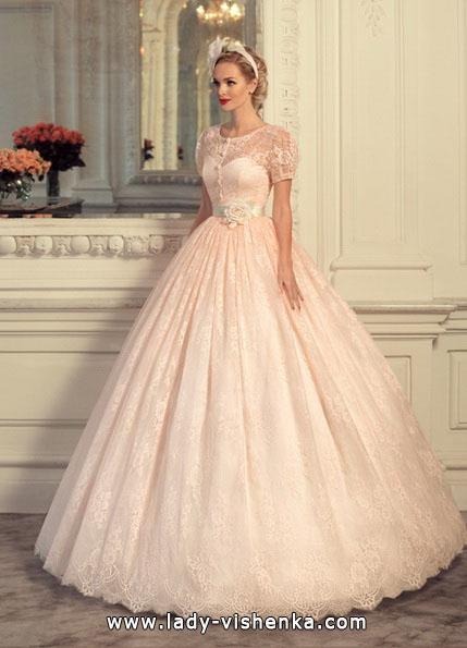 Rosa Hochzeitskleid 2016 - Tatiana Kaplun