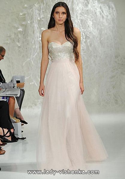 Rosa Hochzeitskleid 2016 - Watters