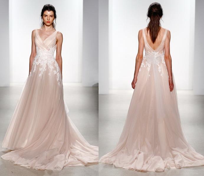 Rosa Hochzeitskleid 2016 - Kelly Faetanini