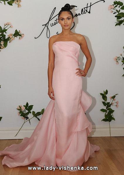 Hochzeitskleid in der Farbe rosa - Austin Scarlett
