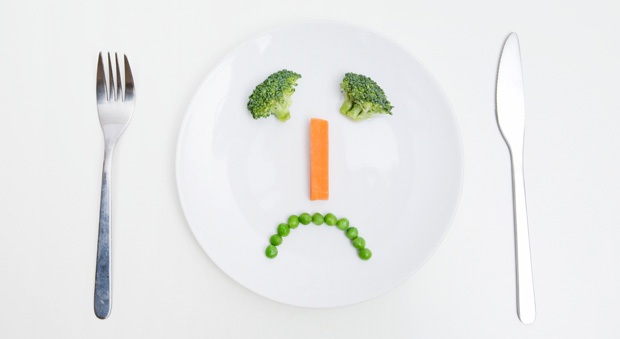 Schlecht auf Diät