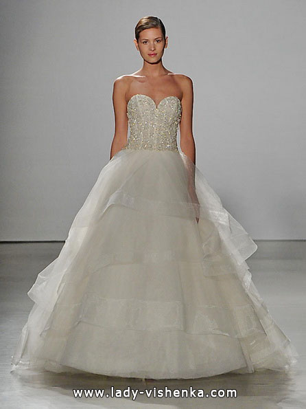 Prinzessin Brautkleid 2016 - Kenneth Pool