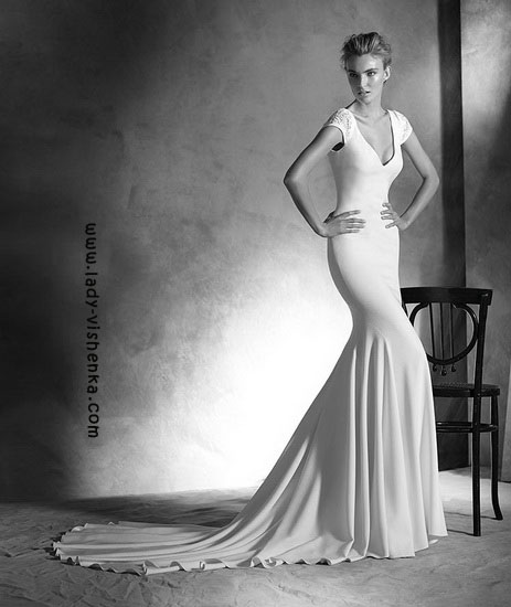 Meerjungfrau Hochzeitskleid Pronovias
