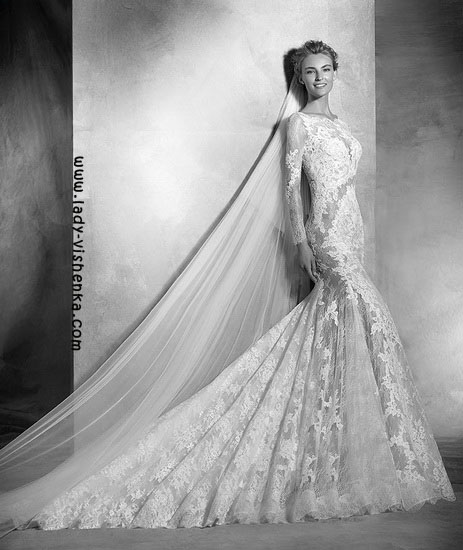 Transparent brautkleider Pronovias