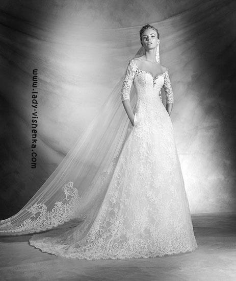 Brautkleider mit ärmeln Pronovias Foto