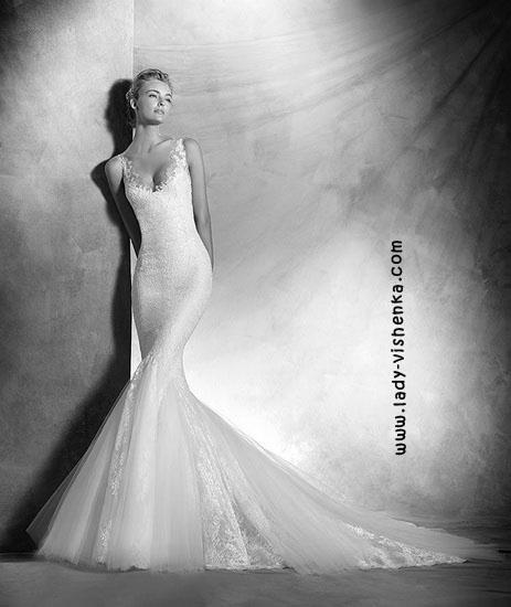 Hochzeitskleid Fisch Pronovias