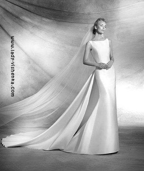 Brautkleider mit schleppe Pronovias Foto