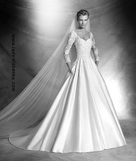 Hochzeitskleid Jahr Pronovias
