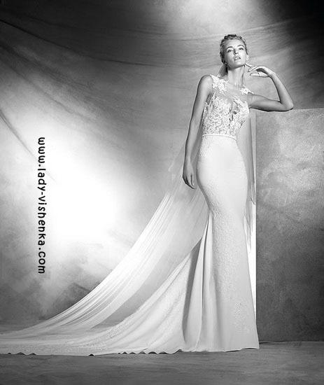 Brautkleider mit Spitze Oberteil Pronovias