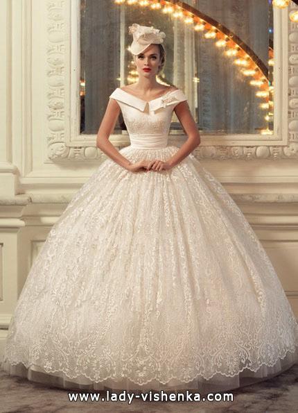Brautkleider mit weitem Rock 2016 - Tatiana Kaplun