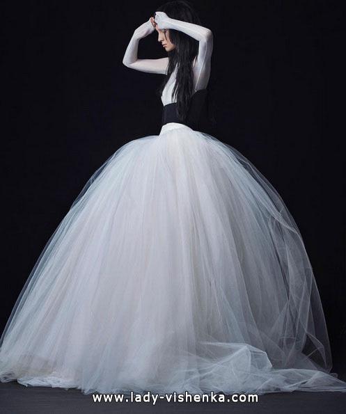 Üppige brautkleider mit ärmeln Foto - Vera Wang