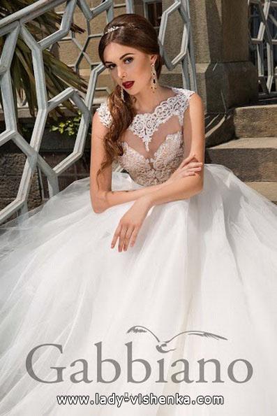 Lange Quinceanera Hochzeitskleid 2016 - Gabbiano