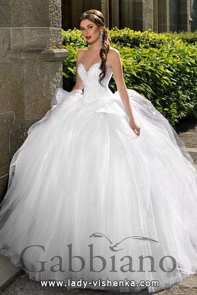 Üppigen Hochzeitskleider Foto - Gabbiano