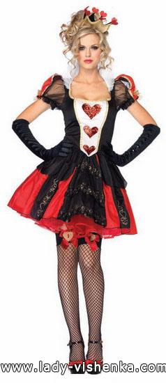 Sexy Kostüm Königin der Herzen