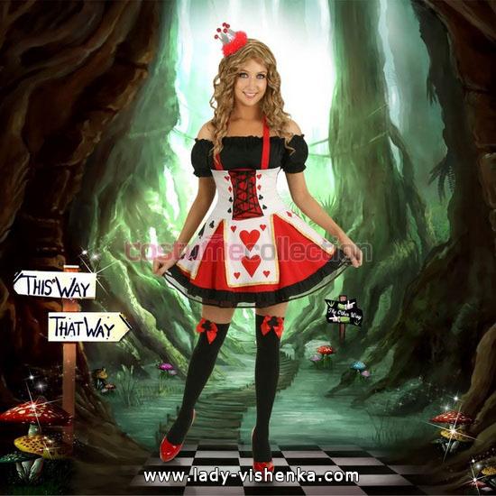Original-Kostüm Königin der Herzen