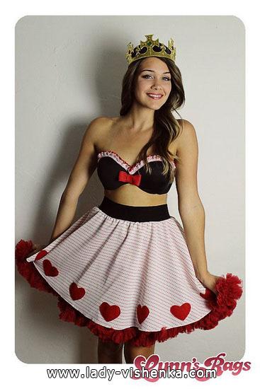 eine Einfache Kostüm Königin der Herzen
