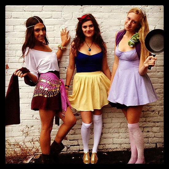 Kostüm Rapunzel Halloween mit Ihren Händen