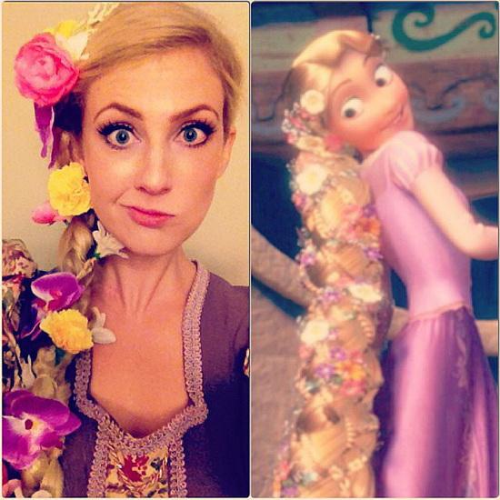 Rapunzel Halloween-Foto