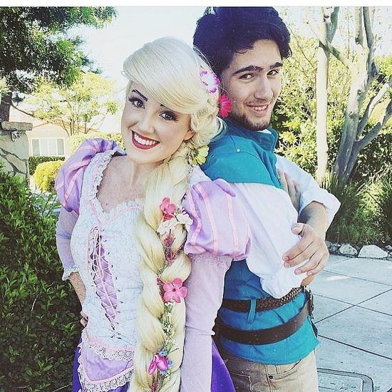 Rapunzel und Flynn - Kostüme für Paare Halloween