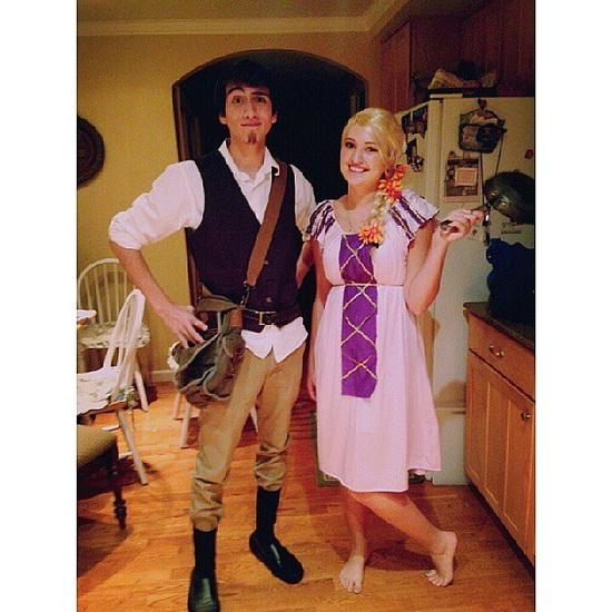 der Leichte Anzug Rapunzel Halloween