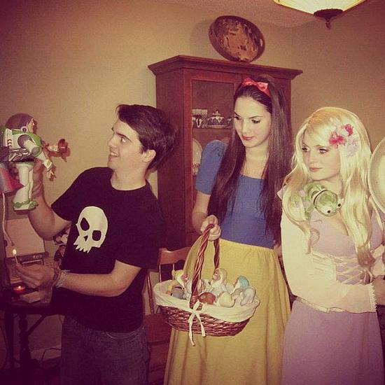Kostüm Rapunzel Halloween - einfache