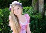Kostüm Prinzessin Rapunzel Halloween