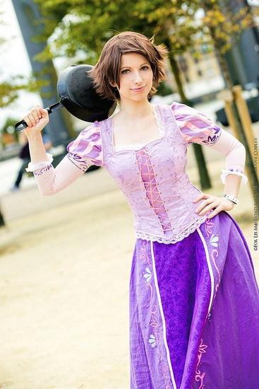 Kostüm Rapunzel Halloween