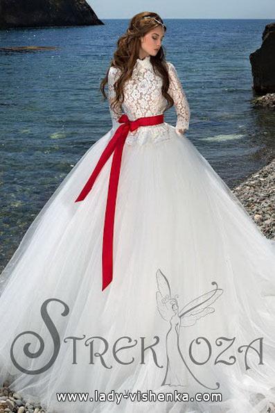 5. Rotes brautkleid Prinzessin