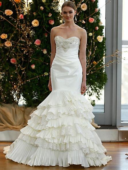 Satin-Hochzeitskleid - Meerjungfrau - Isabelle Armstrong
