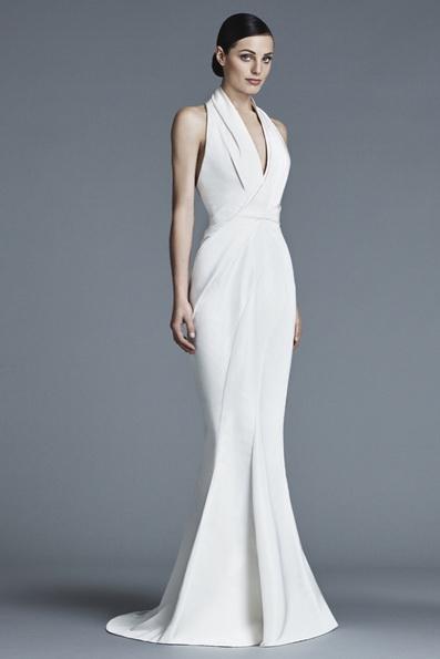Satin-Hochzeitskleid - Meerjungfrau - J Mendel