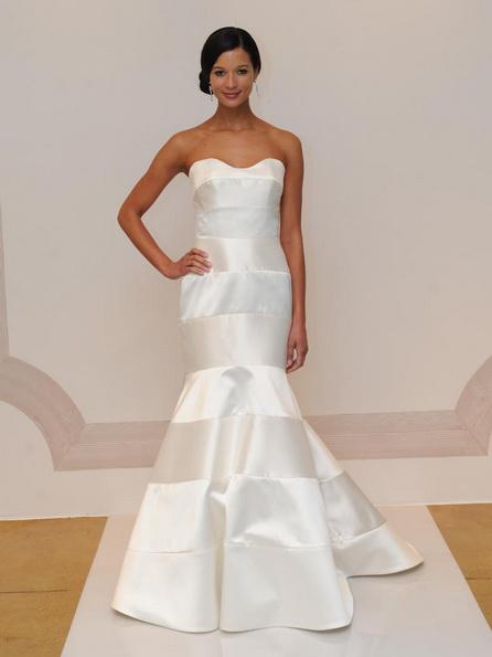 Satin-Hochzeitskleid - Meerjungfrau - Judd Waddell