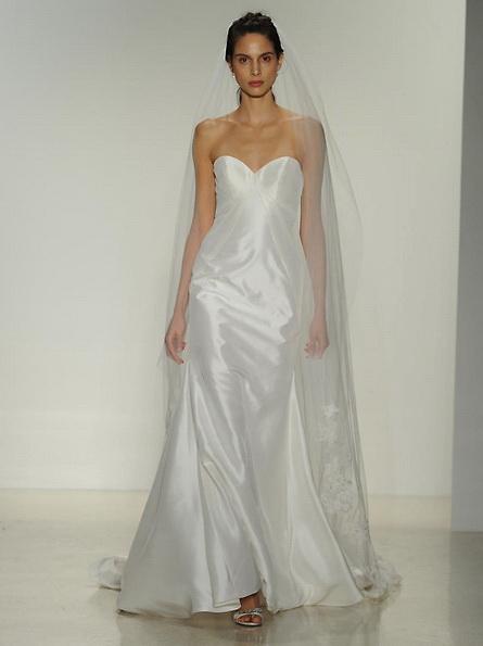 Satin-Hochzeitskleid - Meerjungfrau - Kelly Faetanini