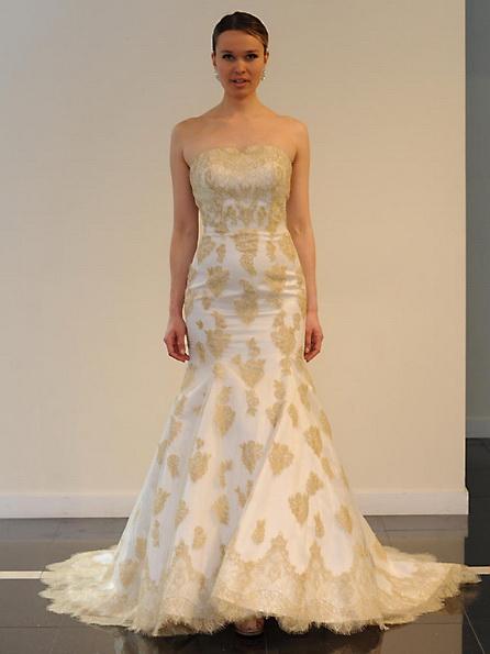 Satin-Hochzeitskleid - Meerjungfrau - Yumi Katsura