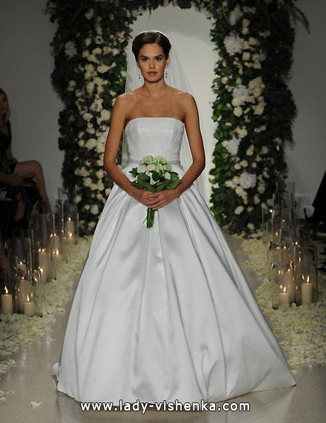 Hochzeitskleid aus Satin 2016 - Anne Barge
