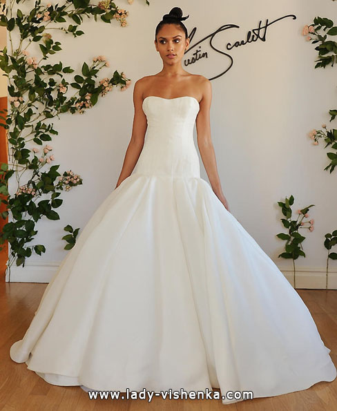Hochzeitskleid aus Satin 2016 - Austin Scarlett