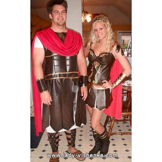 Gladiatoren - sexy Kostüm für Paare