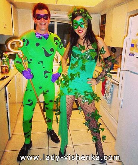 Poison Ivy - Kostüm für Halloween