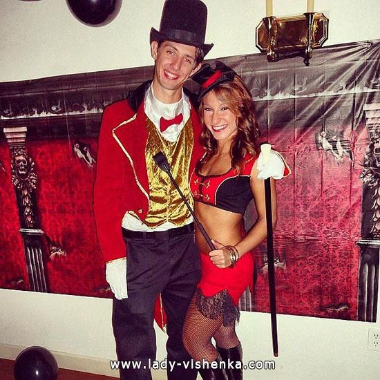 Zirkus-Kostüm für Paare Halloween