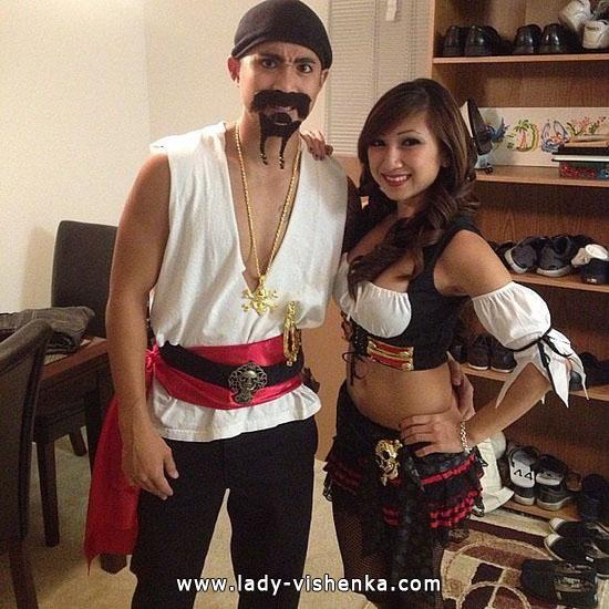 Piraten und Piraten - Kostüm für Paare Halloween