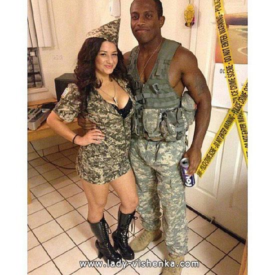 Einfache Halloween-Kostüm für Paare