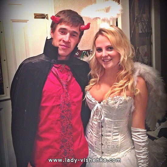 Sexy Teufel und Engel Halloween