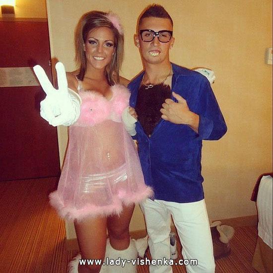 Sexy Kostüm für Paare Halloween