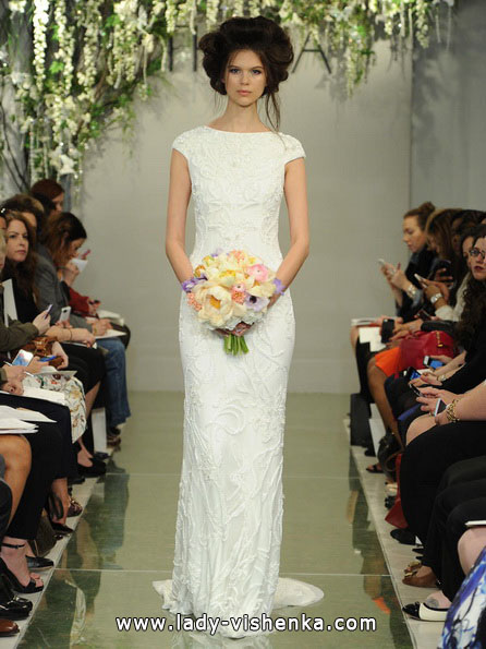 Direkte geschlossenes Hochzeitskleid 2016 - Theia
