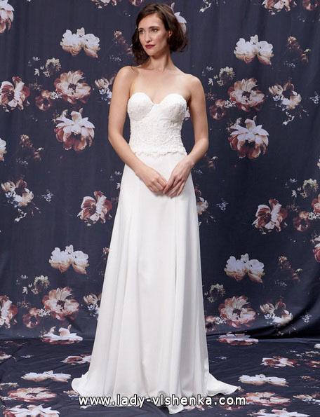 Brautkleider gerader Schnitt 2016